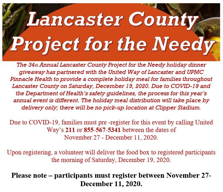 Lanc Co Food Project